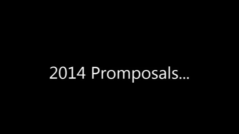 Thumbnail for entry Promposals 2014