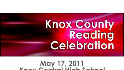 Thumbnail for entry Knox County Reading Celebration