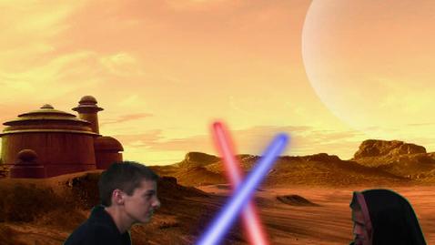 Thumbnail for entry Lightsaber Scene