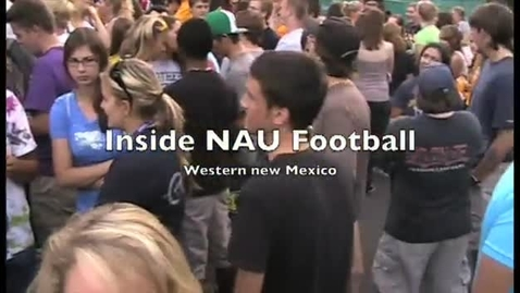 Thumbnail for entry Northern Arizona Universtity Lumberjack Football