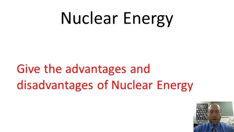 Thumbnail for entry Nuclear Power
