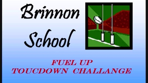 Thumbnail for entry Brinnon School Touchdown Challange