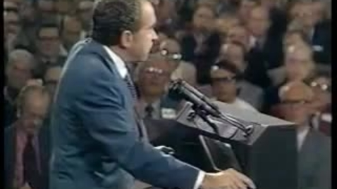 """Thumbnail for entry Richard Nixon - """"I'm not a crook"""" [HIGHER QUALITY - FULL VERSION]"""