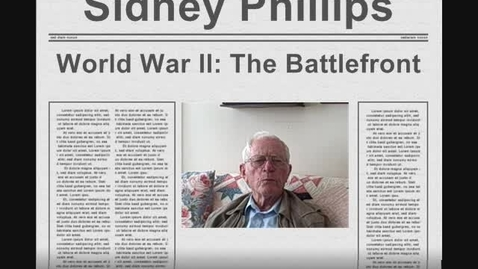 Thumbnail for entry Sidney Phillips Interview