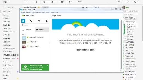 Thumbnail for entry Mic Settings in Skype