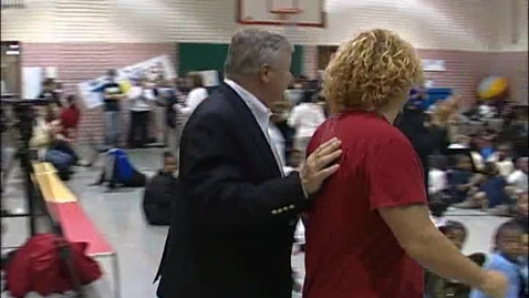 Thumbnail for entry Sammy Hagar visits SLPS