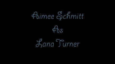 Thumbnail for entry Aimee Schmitt