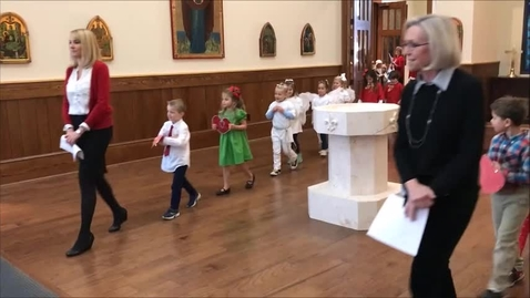 Thumbnail for entry Kindergarten Nativity Pageant 2017