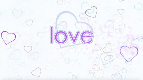 Thumbnail for entry READ & SPELL WITH ME the word love - High Frequency Word Song