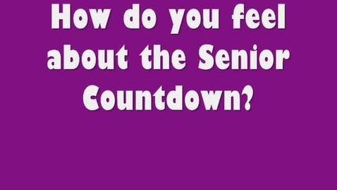 Thumbnail for entry Senior countdown