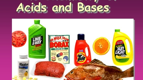 Thumbnail for entry Chemistry of Acids and Bases