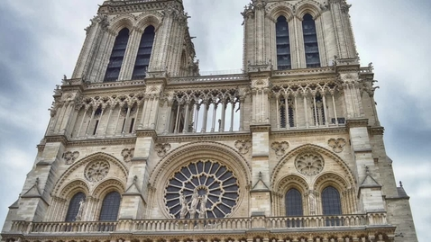 Thumbnail for entry Notre Dame Cathedral caught fire, MHS students react