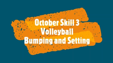 Thumbnail for entry October Skill 3 Middle School