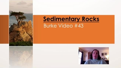 Thumbnail for entry Burke Video #43  Sedimentary Rocks