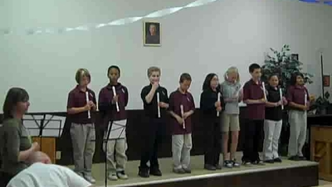 Thumbnail for entry St. Anthony 4th Grade Recorder Recital