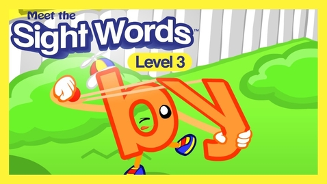 """Thumbnail for entry Meet the Sight Words Level 3 - """"by"""""""