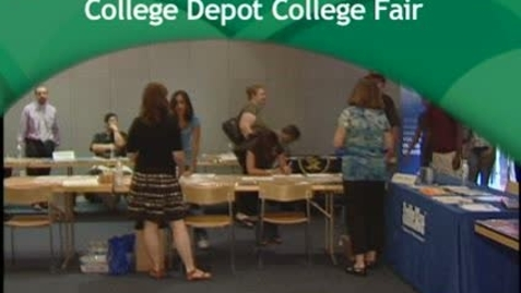 Thumbnail for entry College Depot College Fair