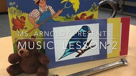 Thumbnail for entry Kindergarten Lesson 2: 2020-2021