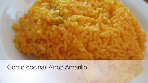Thumbnail for entry Arroz Amarillo