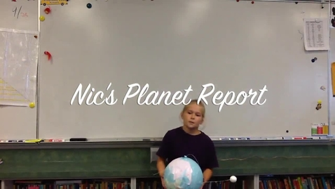 Thumbnail for entry Nic's Planet Report