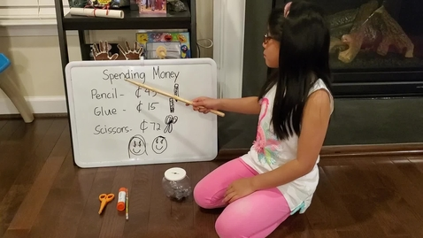 Thumbnail for entry Beatrix Teaching how to spend Money!