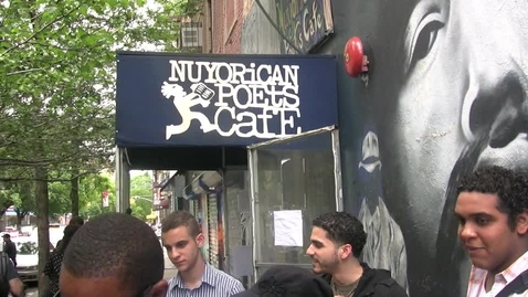 Thumbnail for entry Newcomers at the Nuyorican Poets Cafe