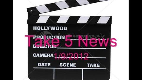 Thumbnail for entry Take 5 News 1.9.2012