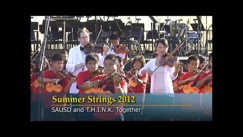Thumbnail for entry Summer Strings at SAUSD