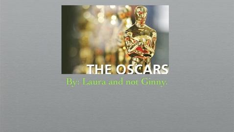 Thumbnail for entry The Oscars