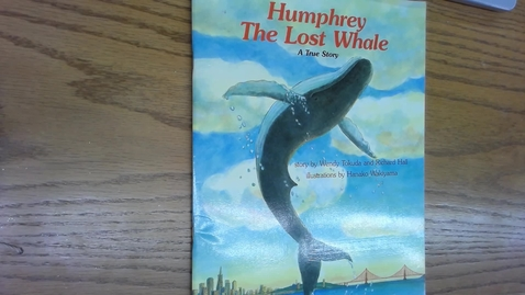 Thumbnail for entry 11 11 Humphrey the Whale with Taylor and Malia
