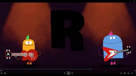 Thumbnail for entry Storybots Letter R