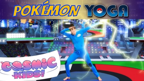 Thumbnail for entry Pokemon | A Cosmic Kids Yoga Adventure