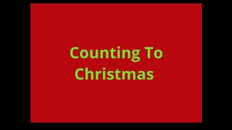 Thumbnail for entry Read Aloud: Counting to Christmas