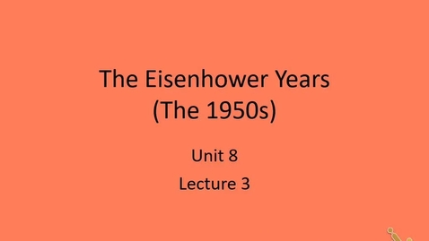 Thumbnail for entry US: Eisenhower Foreign