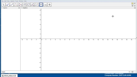 Thumbnail for entry Graphing linear and quadratic functions in Geogebra