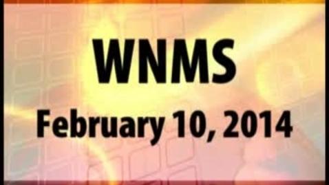 Thumbnail for entry 02-10-14 WNMS Season 1.5 Episode 75