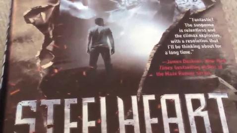 Thumbnail for entry Steelheart by Brandon Sanderson