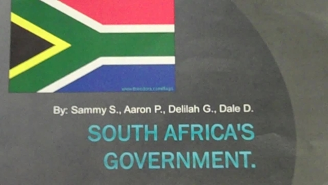 Thumbnail for entry O'Boyle - South Africa's Government