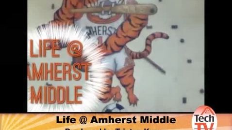 Thumbnail for entry Monday May 12 2014 Newscast Amherst Middle School Tech TV