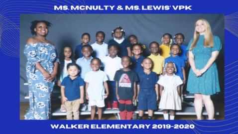 Thumbnail for entry Ms McNulty's VPK Walker 19-20. Final