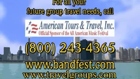Thumbnail for entry Class Trips - Senior Class Trips - Call American Tours & Travel