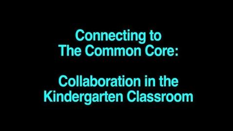 Thumbnail for entry Belinda Noriega - Collaboration in Kindergarten SAUSD