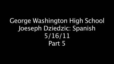 Thumbnail for entry Joeseph Dziedzic Part 5