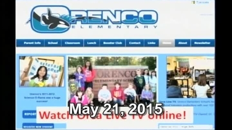 Thumbnail for entry Orca Live May 21, 2015