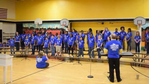 Thumbnail for entry Leadership Day 1 - Learning Labs Choir - The Leader in Me Loves the Leader in You