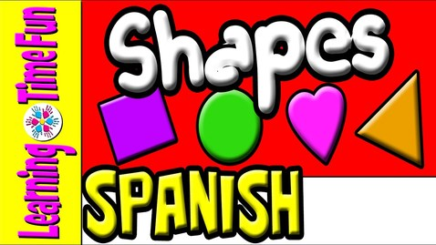 Thumbnail for entry Spanish Shapes | Spanish for Kids | Preschool Spanish | Learn Spanish | Spanish Baby, Children