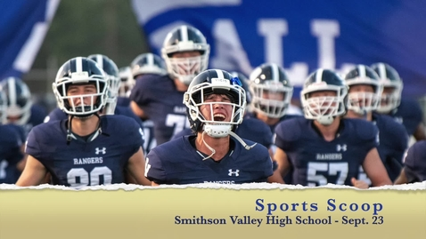 Thumbnail for entry Sports Scoop - Sept. 23