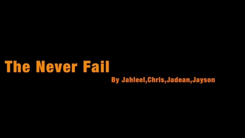 Thumbnail for entry Invent-O-Mercial 2017: Jahleel V.