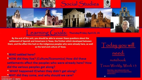 Thumbnail for entry Spanish Missions, Day 3: San Saba