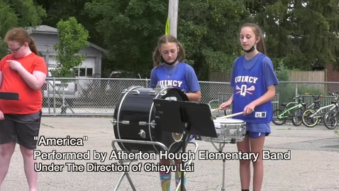 Thumbnail for entry Atherton Hough Band 2021 Perform 3 Songs